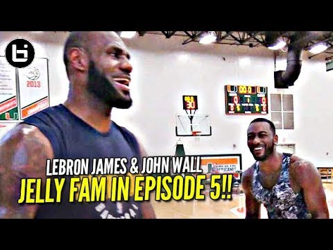 LeBron James vs John Wall + Superstar Jelly Fam?! NO OFF SEASON | episode 5