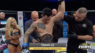 Thanh Le Scores the Interim Featherweight Title | LFA 31 Highlights