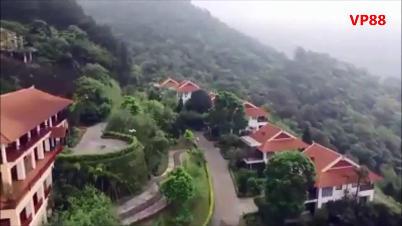 Cảnh Đẹp Khu Du Lịch Tam Đảo Vĩnh Phúc Từ góc Nhìn FlyCam