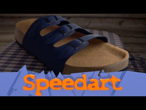 For Blendswap - Creating a Slipper in Blender 2.76 - Speedart