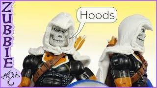 How to Make a Hood for Action Figure Capes, DIY for Marvel Legends & Other Toys