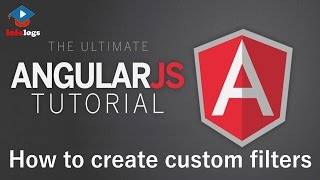 AngularJS Video Tutorials - How to create custom filter