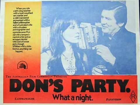 DONS PARTY Interview with Ray Barrett Australian Cinema