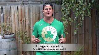 Energetic Education - New Webinars next week!!!