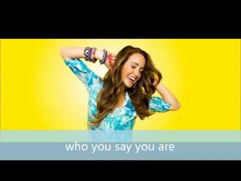Britt Nicole - Who you say you are - Instrumental - Karaoke - Playback