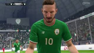 FIFA 18: Seani Maguire and Daryl Horgan Ireland Battle