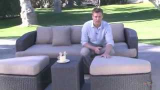 Montclair All Weather Wicker Sectional Sofa Set - Product Review Video