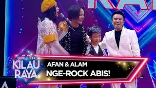 Afan dan Aan Suaranya Rock Abis!! - Road To Kilau Raya 23/2