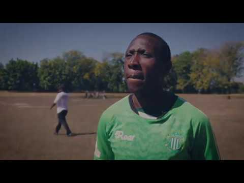 After losing arm, Zimbabwean footballer returns to pitch
