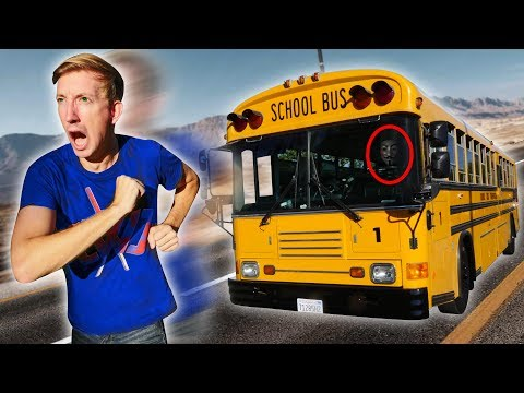 FOUND ABANDONED SCHOOL BUS (Exploring YouTube Hacker Evidence & Hidden Treasure Mystery Clues)