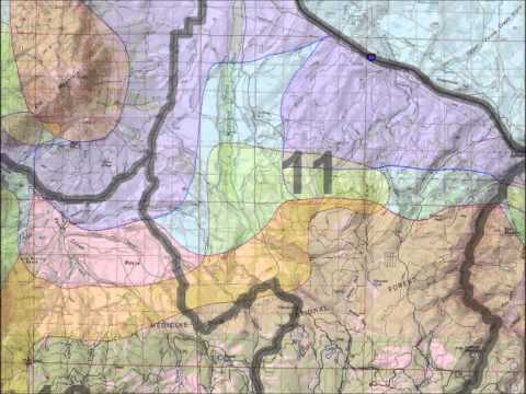 Wyoming Printed Elk Maps