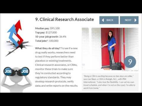 Best Jobs in America   Clinical Research Associate