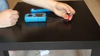 BSIDE FWT11 RJ45 RJ11 cable tester