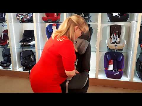 Britax Romer Evolva 1 2 3 Plus Child Car Seat Demo