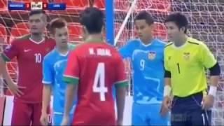 OMG.. Timnas Futsal Indonesia Bantai Iaos 19-1 di AFF 2017