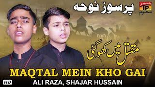 Maqtal Mein kho Gai | Ali Raza, Shajar Hussain |  Noha 2019