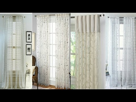 Stylish looks good designs Curtains designs for 2018