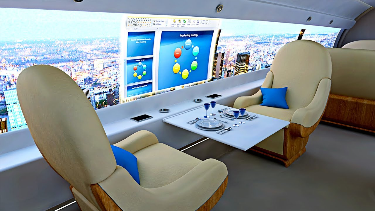 10 Amazing Private Jet Concepts