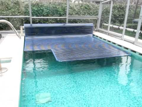 Manta termica automatica de policarbonato solar youtube for Manta solar piscina
