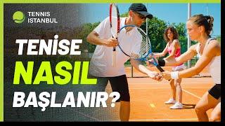 Tenis Dersleri - Tenis Nasıl Oynanır? - Tenise Nasıl Başlanır? İşte Tüm Cevaplar