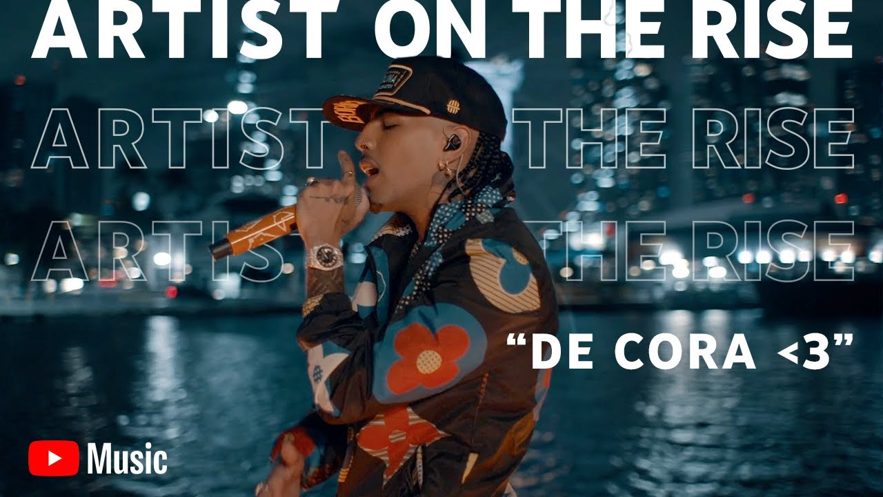 Rauw Alejandro - De Cora 💙  (Live Performance) - Artist on the Rise
