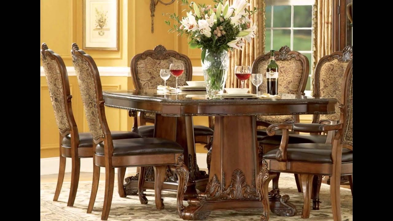 Dining room tables and chairs youtube for Dining room tables you tube