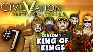 Civilization 5 King of Kings #7 -  Bee-Line for Nukes