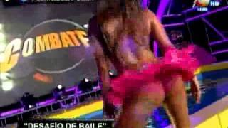 COMBATE: Alejandra Baigorria dedica sensual baile a Guty Carrera