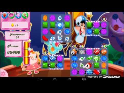 Candy Crush saga nivel 2181 / sin boosters