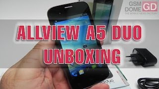 Allview A5 Duo Unboxing - GSMDome.com