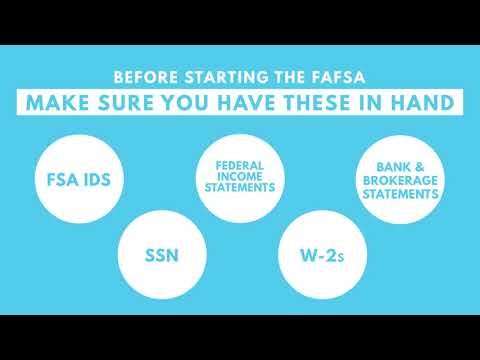 2019-20 FAFSA is Now Open! | One Stop Enrollment and Financial Services