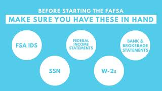 7 Easy Steps to the FAFSA - Start Here thumbnail