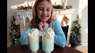 Elsa FROZEN -  White Hot Chocolate Recipe - Inspired by Disney Frozen Movie