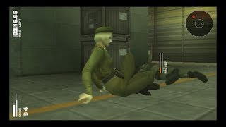 Metal Gear Solid Portable OPS + multiplayer [Deathmatches]