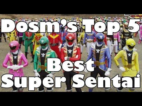 Dosm's Top 5: Super Sentai Series