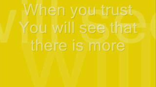 There is more - Lou Fellingham w/ lyrics