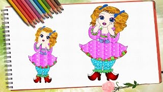 How to draw little fairy/Как нарисовать фею