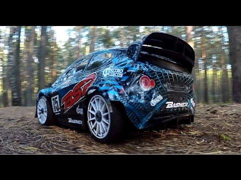 Тест-драйв радиоуправляемой модели Basher BSR 4WD Rally