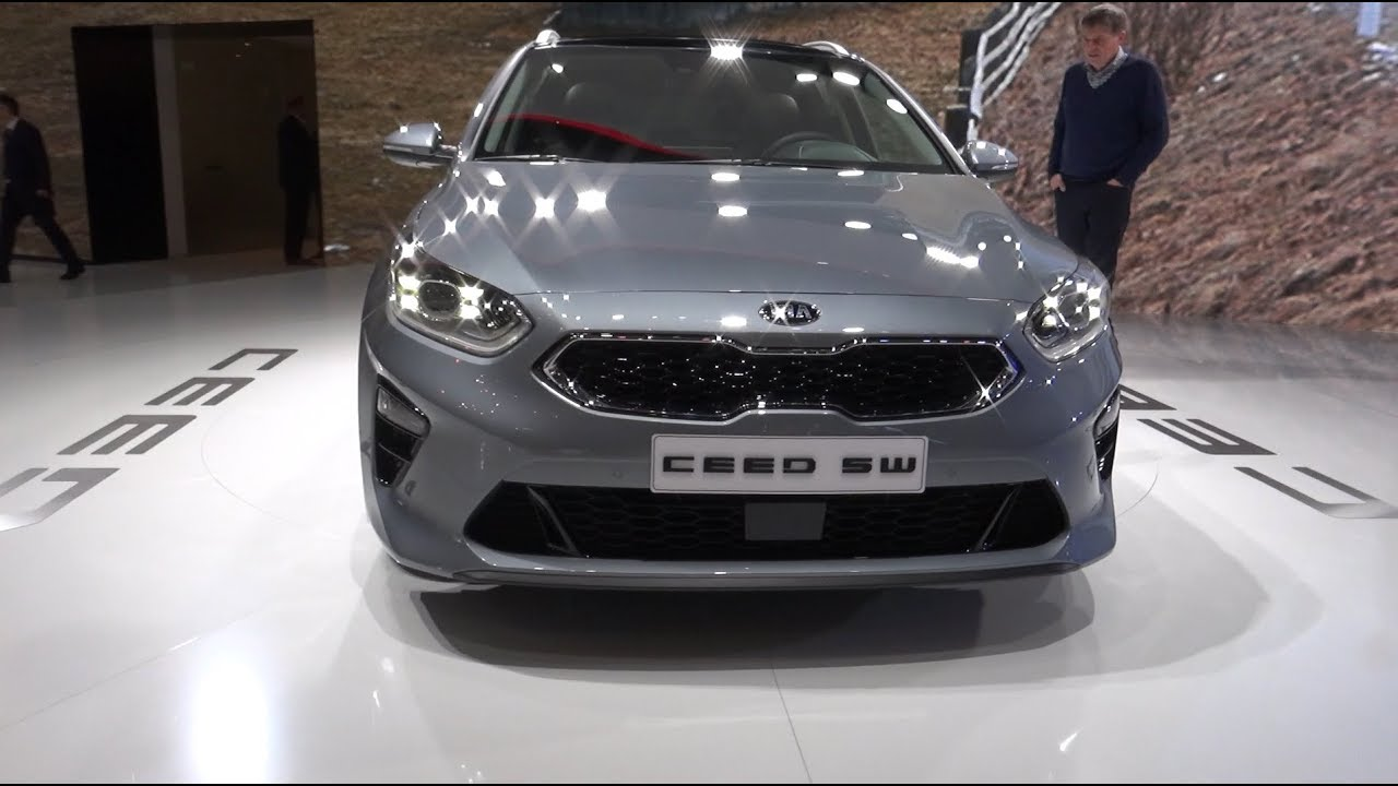 kia ceed sw 2019 geneva motorshow youtube. Black Bedroom Furniture Sets. Home Design Ideas