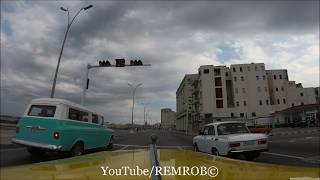 Driving Malecón, (La Habana) Havana Cuba 2017