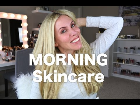 Anti-Aging Skincare Routine AM | Younger Looking Skin!