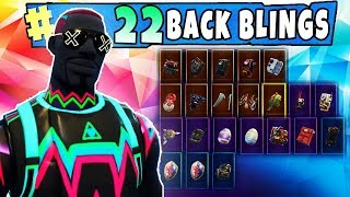 "FORTNITE New ""LITESHOW"" Skin Showcased with 22 Back Blings (GLOW) Fortnite SEASON 4 Col de bataille"