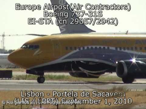 Europe Airposte (Air Contractors) Boeing 737-31S