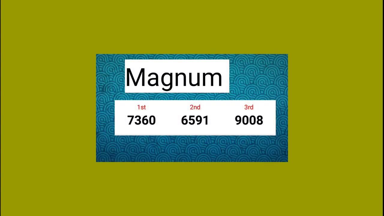 Repeat 19-12-2018 TOP 9 Number Magnum TOTO Kuda 4D