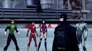 Justice League saves President | Reign of the Supermen