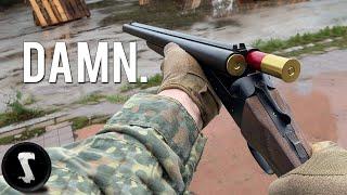 Double Barreled Shotgun vs Airsoft Player's FACES