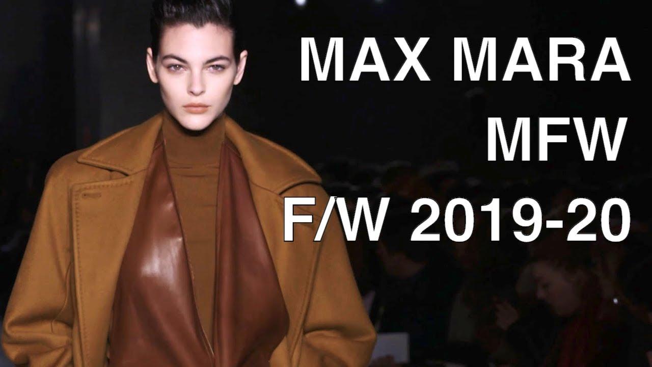 MAX MARA iFALLi iWINTERi 2020 i2020i FULL HD SHOW YouTube