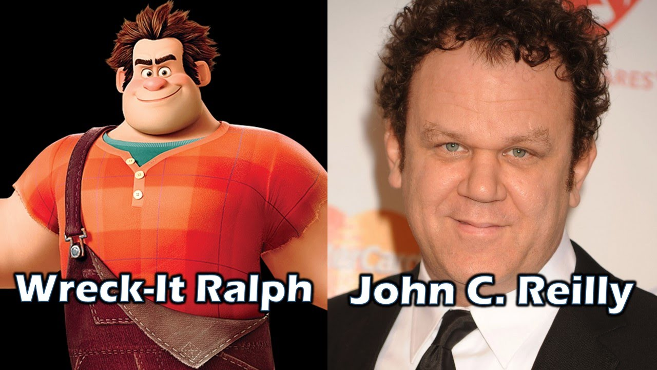 Characters and Voice Actors  WreckIt Ralph  YouTube
