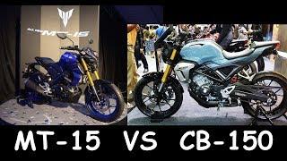 REVIEW YAMAHA MT15 VS HONDA CB150