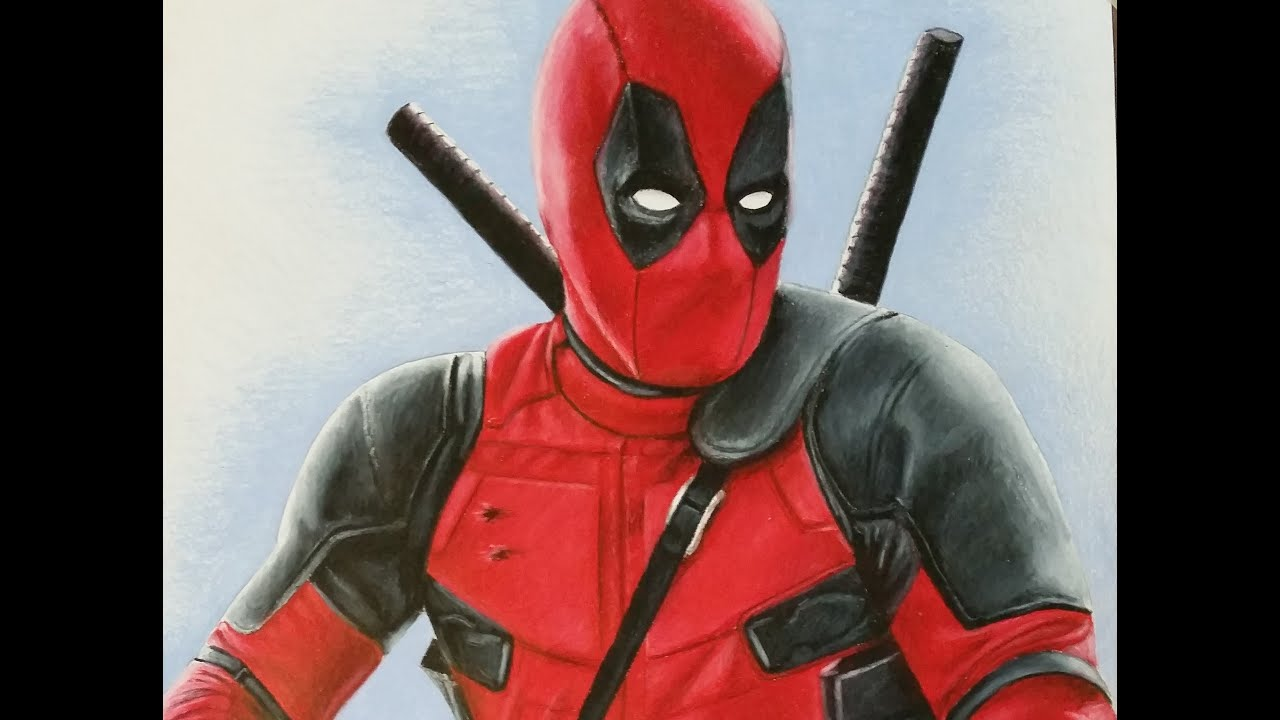 Dibujos De Deadpool: How To Draw Deadpool Ryan Reynolds Cosplay Tribute
